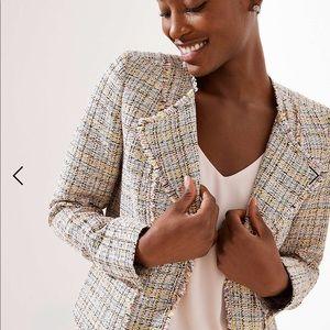 Gorgeous LOFT Tweed Blazer- NWOT